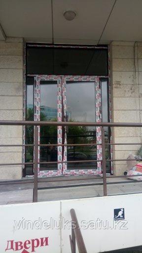 Алюминевые входные двери - фото 4