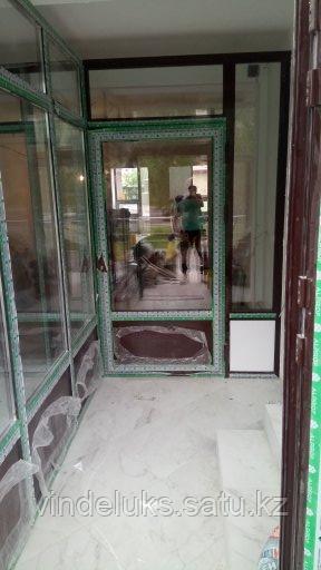 Алюминевые входные двери - фото 8