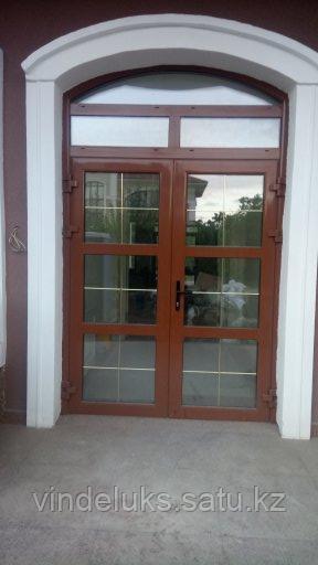Алюминевые входные двери - фото 10