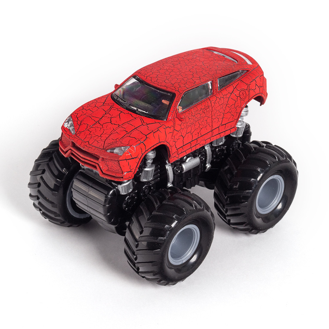 Инерционный внедорожник 12см  X Game kids  X7753  Серия OFF-ROAD Красный кузов
