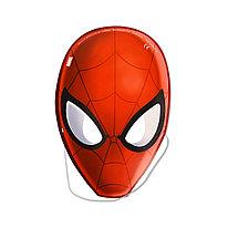 Карнавальная маска  ВЕСЁЛАЯ ЗАТЕЯ  1501-4294  Spider-Man  (6шт. в пакете)  Бумажный  Многоцветный  Пакет