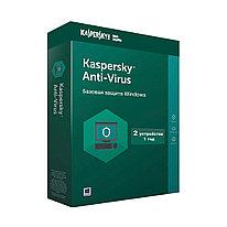 Антивирус  Kaspersky Lab  Kaspersky Anti-Virus 2021 Box (5056244903756)  2 пользователя  12 мес.  BOX  защита