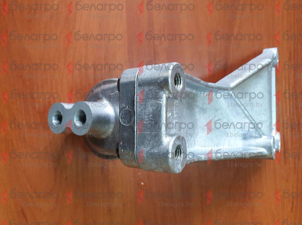 245-1117010-Г Корпус фильтра МТЗ тонкой очистки топлива с кронштейном, (У)