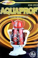 Cамовар-термопот электрический с керамическим чайником «Гжель» AQUAPROF KSW-2934 (Красный)