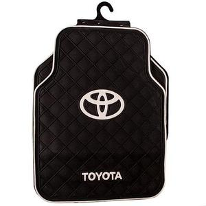 Набор полиуретановых ковриков с логотипом в автомобиль (Toyota)