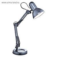 Настольная лампа CARBON 1x40Вт E27 карбон 24x59см