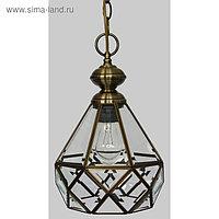 "Светильник ""Витра-1"", 75Вт E27, цвет бронза"