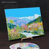 Картина по номерам на холсте с подрамником «Весна в Италии» Левитан Исаак 40х50 см