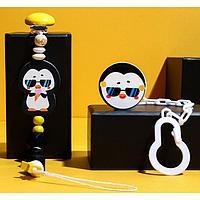 Игрушка-держатель для пустышки «ТРЕНД. Пингвин» из дерева
