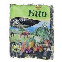 Удобрение сухое Фаско БИО Конский Компост органоминеральное, гранулированное, 2 кг