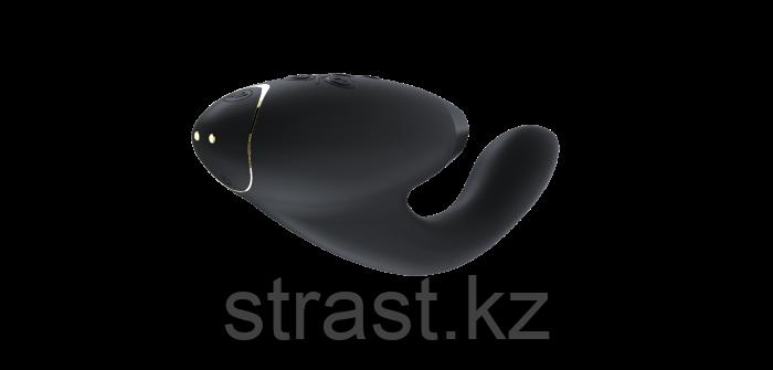 Бесконтактный клиторальный стимулятор Womanizer Duo черный