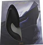 Бесконтактный клиторальный стимулятор Womanizer Duo черный, фото 3