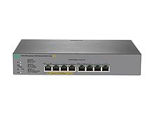 HPE J9982A Коммутатор OfficeConnect 1820 с 4 разъемами 1GbE и 4 разъемами 1GbE с поддержкой PoE+ (до 65 Вт)