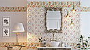 Кафель | Плитка настенная 20х60 Кинтана | Kintana стена темная, фото 2