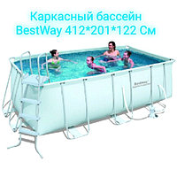 Каркасный бассейн Bestway 412 см 201 см 122 см