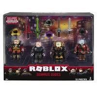 Roblox ROB0306 Фигурки героев Dominus Dudes 4 шт с аксессуарами