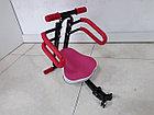 Детское сидение на велосипед. Крепление спереди на раму., фото 3