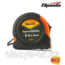 Рулетка Elastica, 3 м х 16 мм. SPARTA