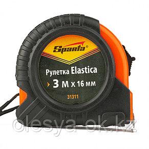 Рулетка Elastica, 3 м х 16 мм. SPARTA, фото 3