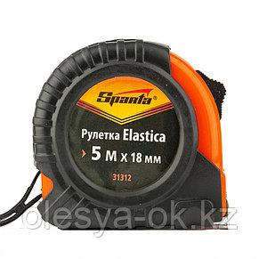 Рулетка Elastica, 5 м х 18 мм. SPARTA, фото 3