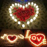 Свечи пластмасовые свечи светодиодные на батарейке, свеча на батарейке, ночник свеча, свечи без воска и огня., фото 7