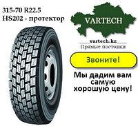 Шина 315-70 R22.5 PR20 Kapsen HS202 (ведущая) в Алматы