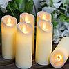 Свечи пластмасовые свечи светодиодные на батарейке, свеча на батарейке, ночник свеча, свечи без воска и огня., фото 10