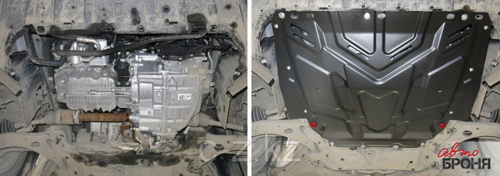 Защита картера Ford Focus 2  2005-2011, фото 2
