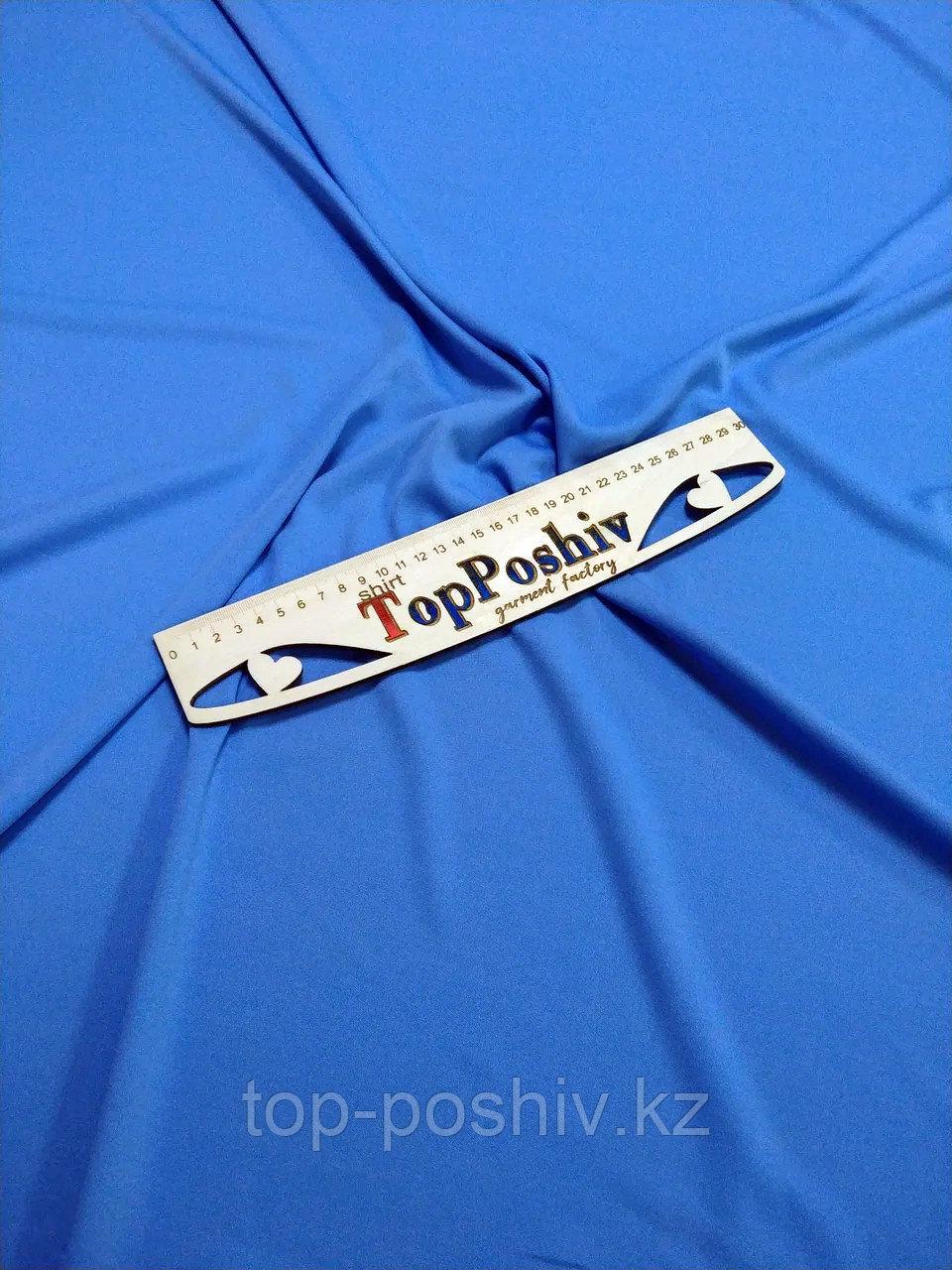 """Ткань Прима Микрофибра """"ЛЕТО Премиум Плюс"""", Термотрансфер, 168 см, Голубой филин"""
