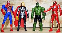 1681  Герой Мстители в пакете 4 вида маленькие, 17*10см, фото 1