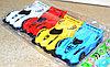 729-78 гоночный машинки в пакете 4шт Rasing car 20*9см