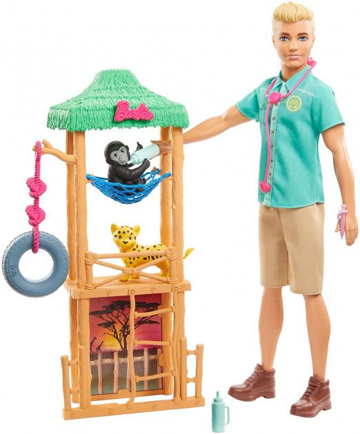 """Barbie """"Профессии"""" Кукла Кен - Ветеринар диких животных, Барби Кем быть?"""