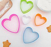 """Набор форм для печенья """"Сердце"""""""