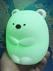 Сенсорный ночник Мишка