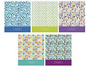"""Тетрадь общая ArtSpace """"Узоры. Watercolor pattern"""", А5, 48 листов в клетку, на скрепке"""