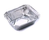 Форма алюминиевая 255мл, 123x96x33мм, 3000 шт