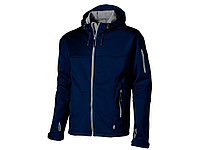 """Куртка софтшел """"Match"""" мужская, темно-синий/серый XL, 3330649XL"""
