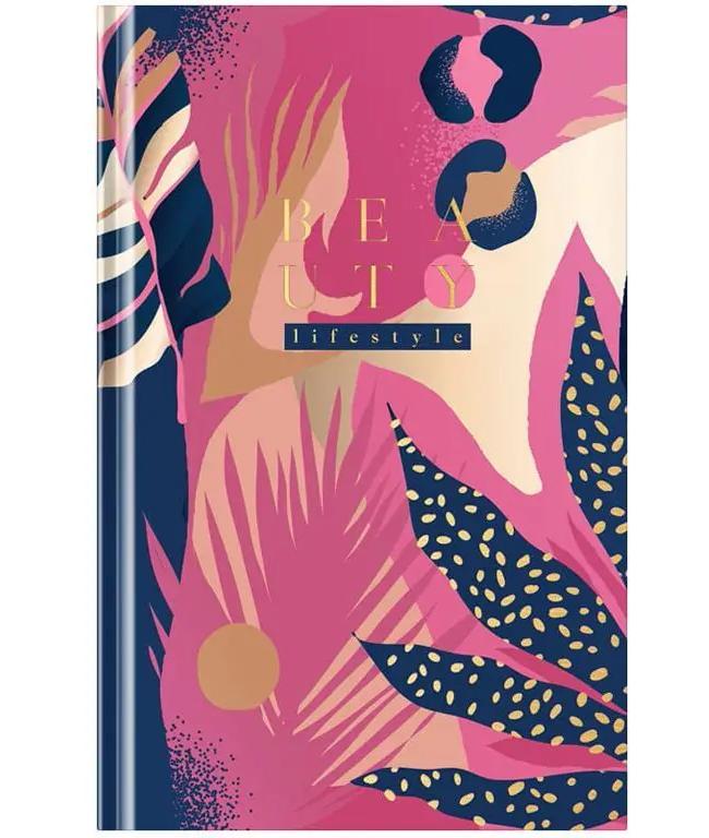 "Ежедневник OfficeSpace ""Beauty lifestyle"", недатированный, A5, 272 страницы, глянцевая ламинация"
