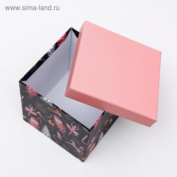 """Набор коробок 10 в 1 """"Щелкунчик"""", 26,5 х 26,5 - 8,5 х 8,5 см - фото 3"""