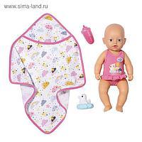 Кукла Baby Annabell, 30 см, для игры в воде, полотенце, бутылочка, игрушка