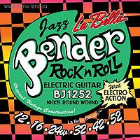 Струны для электрогитары La Bella BJ1252 The Bender Jazz никелированные, 12-52