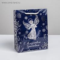 Пакет вертикальный ламинированный «Ангел» MS, 18 × 23 × 8 см