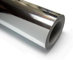 Металлизированная пленка серебро-глянцевое (9288)   (1.22м х45,7м)