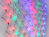 Гирлянды светодиодные, новогодние, уличные сетки, гирлянда сетка, фото 3