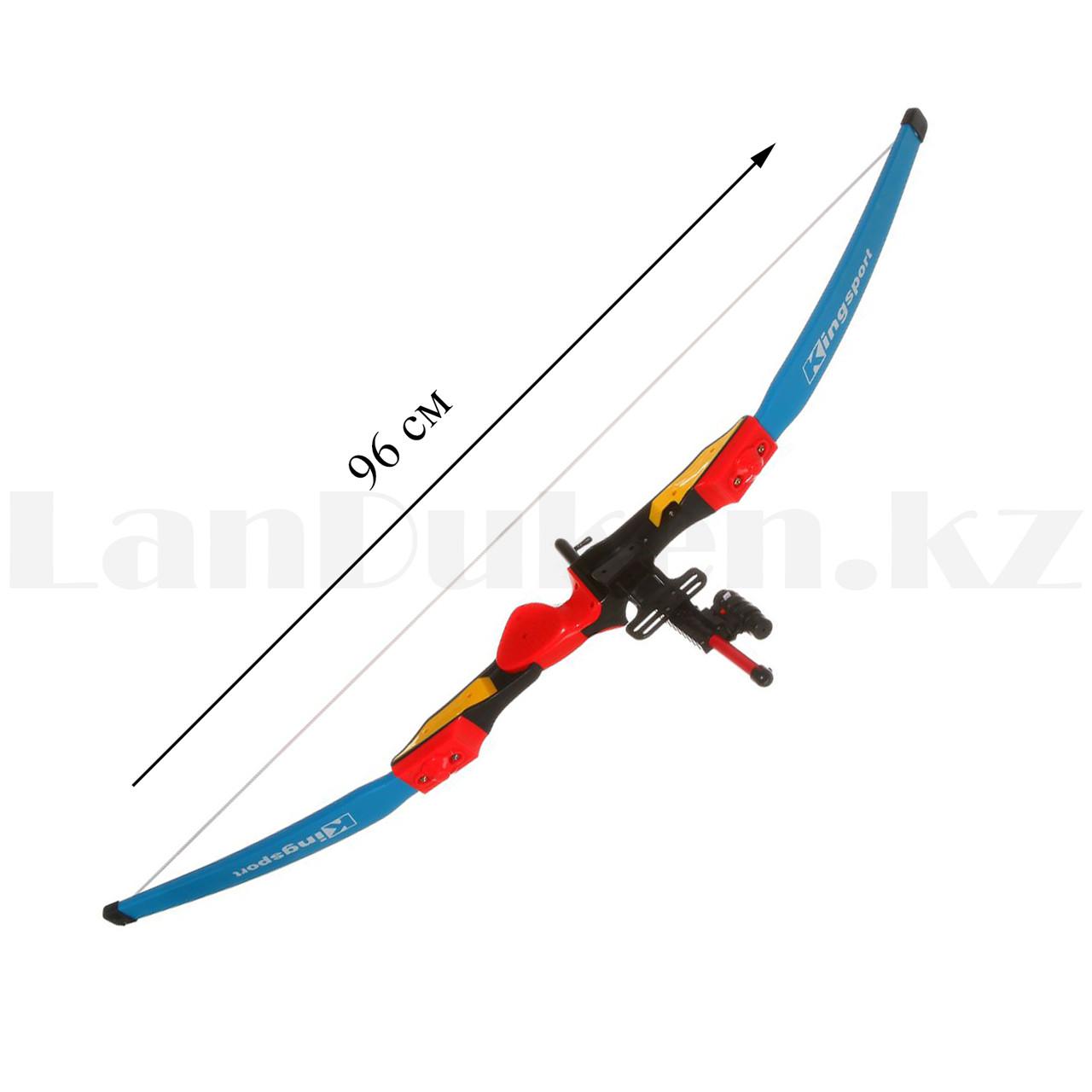 """Игрушечный набор лук и стрелы с лазерным прицелом """"Kingsport"""" 35881А высота 94 см - фото 4"""