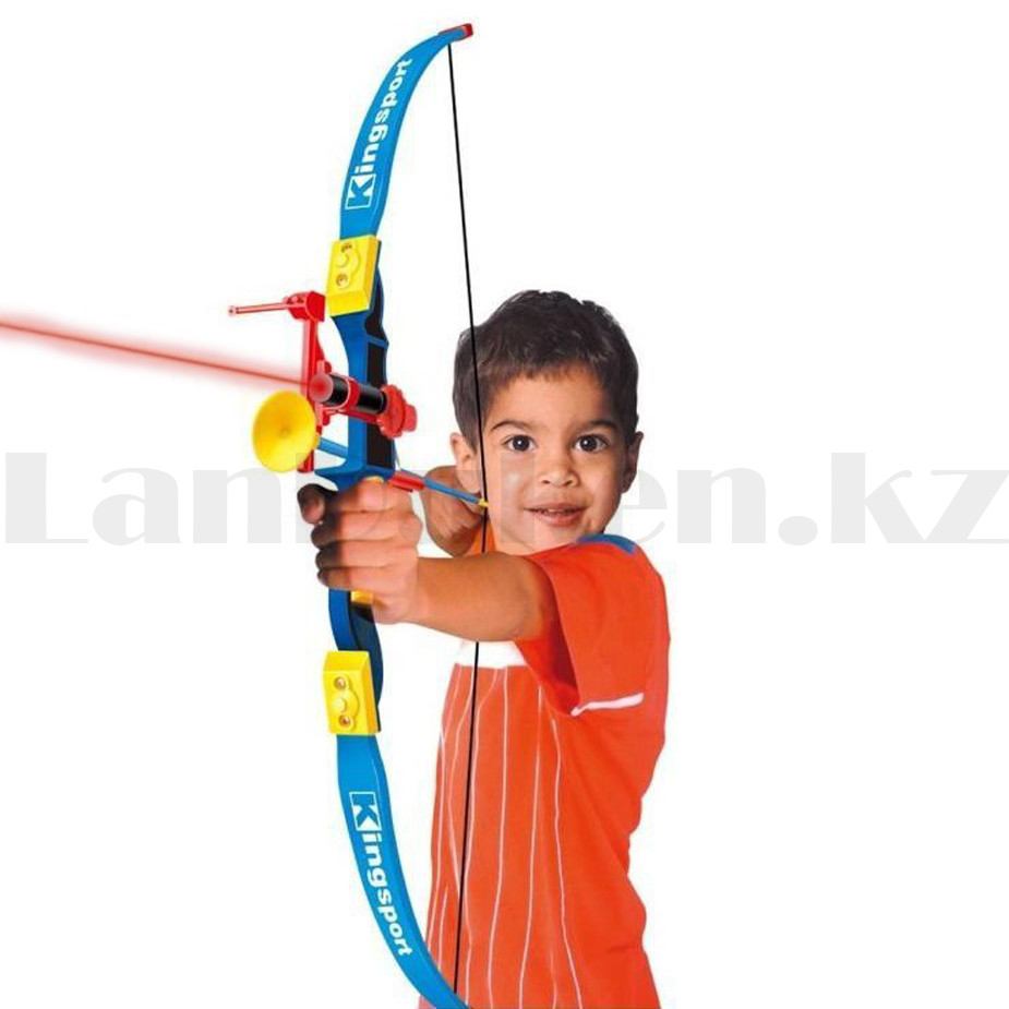 """Игрушечный набор лук и стрелы с лазерным прицелом """"Kingsport"""" 35881А высота 94 см - фото 6"""