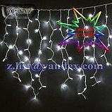 Гирлянды светодиодные, новогодние, уличные Бахрома; Длина 3х1 метр, фото 5