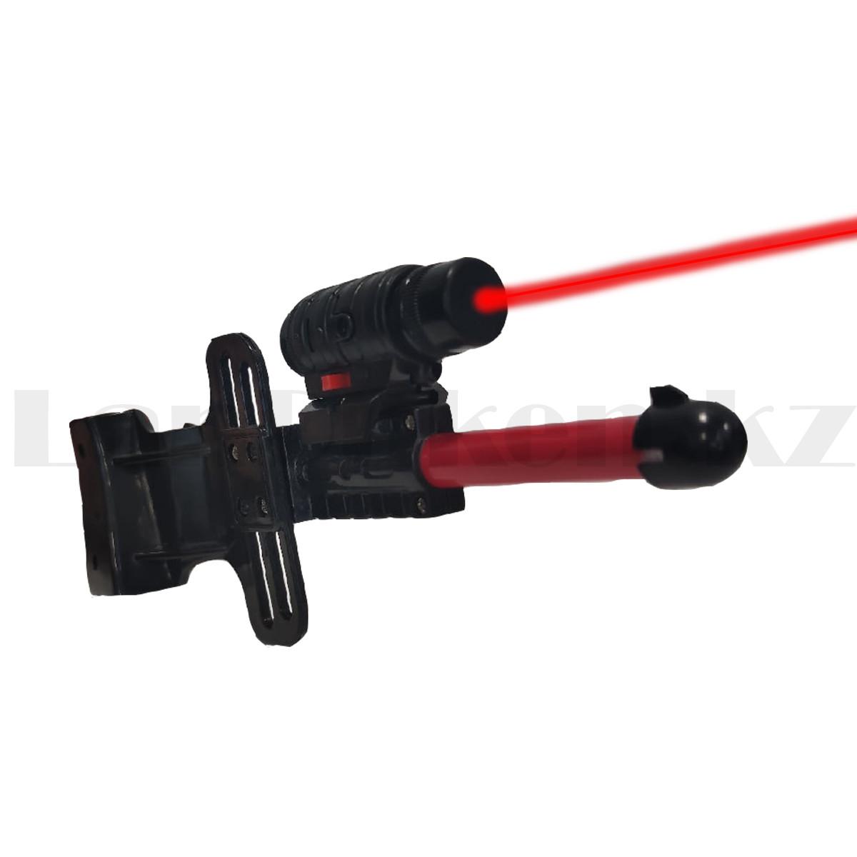 """Игрушечный набор лук и стрелы с лазерным прицелом """"Kingsport"""" 35881А высота 94 см - фото 9"""