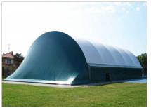 Спортивное сооружение из металлической конструкции (ангар) - фото 1