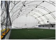 Спортивное сооружение из металлической конструкции (ангар) - фото 2